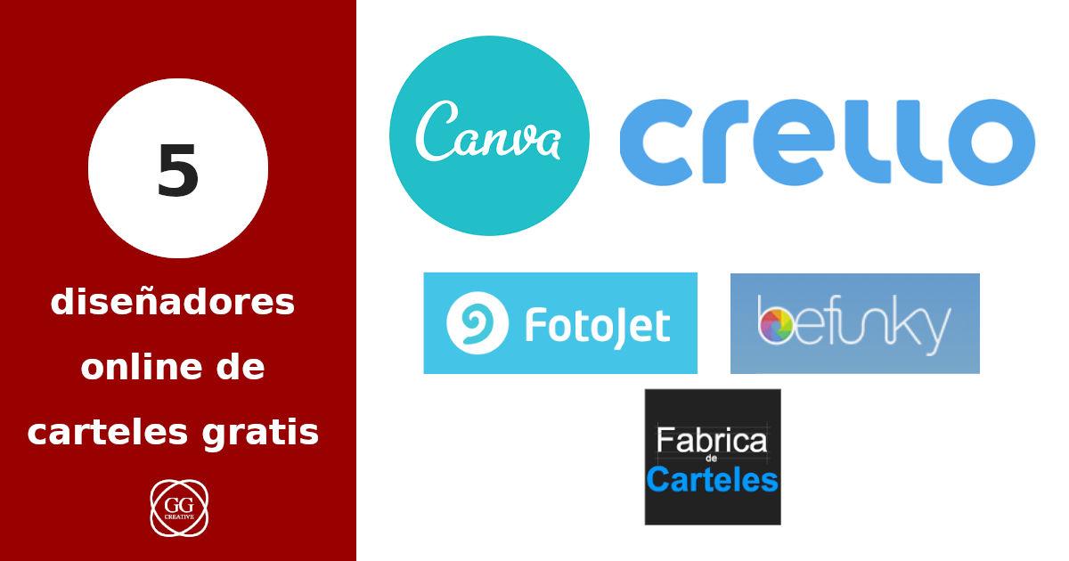 5 diseñadores online de carteles gratis
