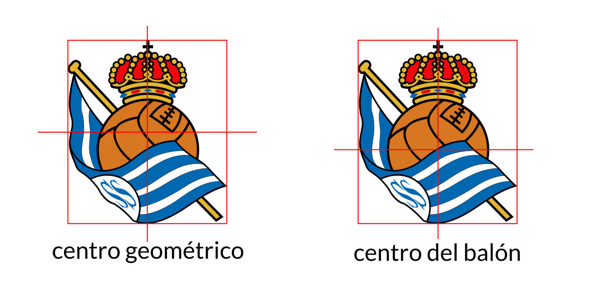 centro geometrico logo real sociedad